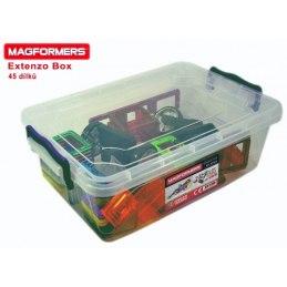 MAGFORMERS Extenzo box, 45 dílků