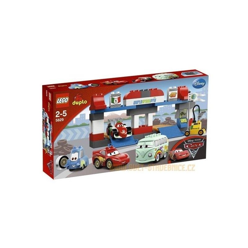 LEGO DUPLO Cars - Zastávka v depu 5829