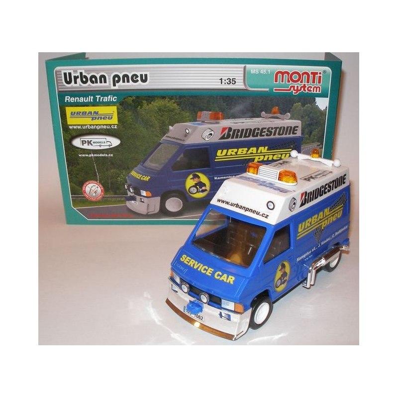 Monti System MS 45.1 - Urban pneu Renault Trafic 1:35