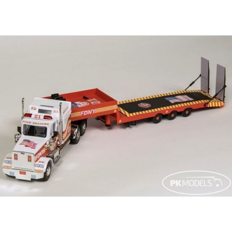 Monti System MS 1276 - F.D.N.Y. Fire Wehicle with trailer 1:48