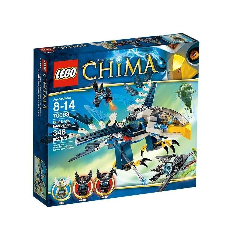 LEGO CHIMA - Erisina orlí stíhačka 70003