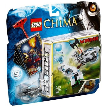 LEGO CHIMA - Ledová věž 70106