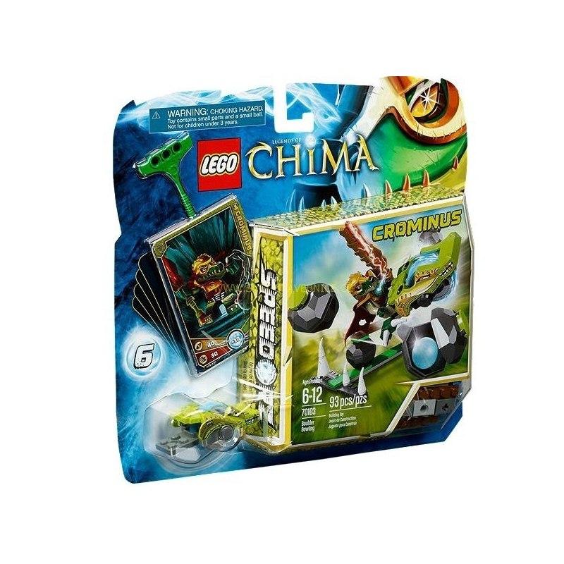 LEGO CHIMA - Kamenný bowling 70103