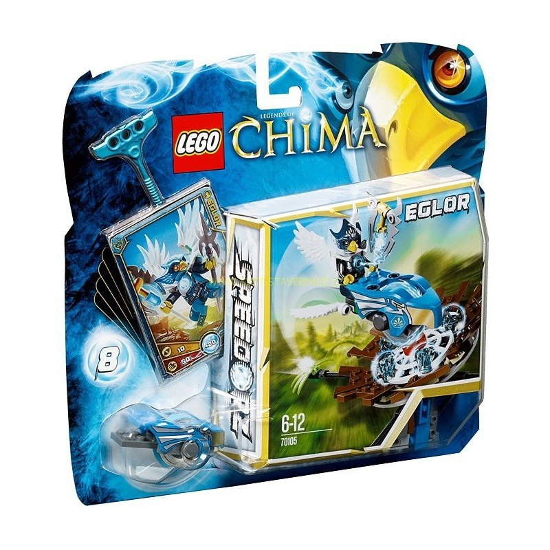 LEGO CHIMA - Trefa do hnízda 70105