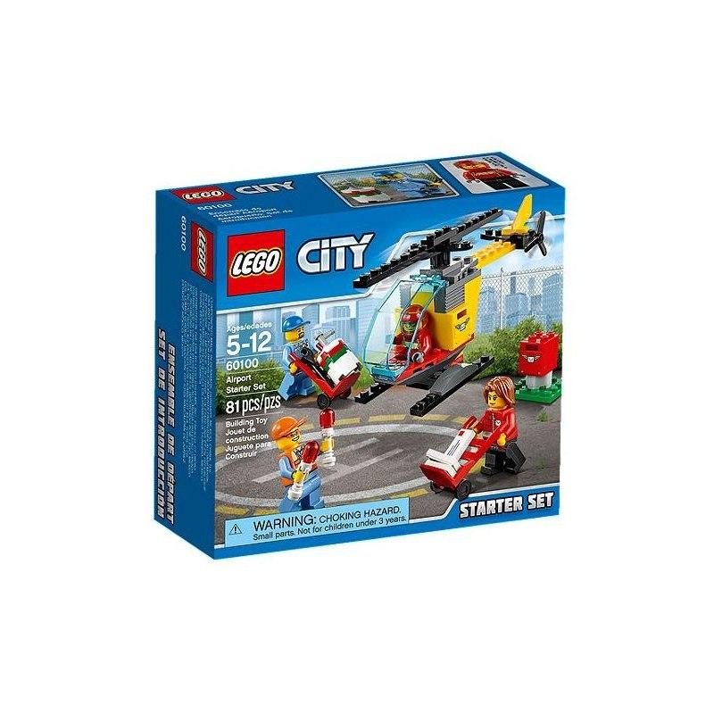 LEGO City 60100 Letiště – Startovací sada