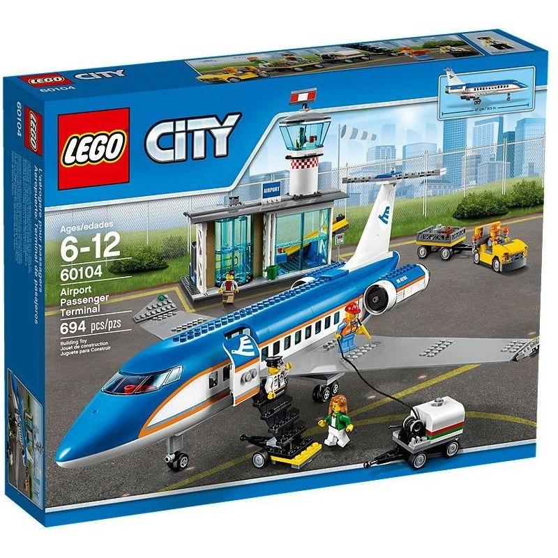 LEGO City 60104 Letiště - terminál pro pasažéry