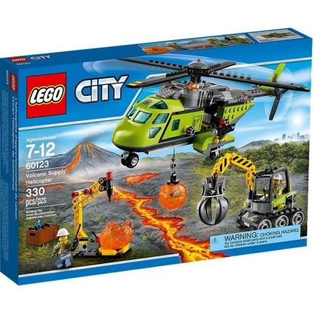 LEGO City 60123 Sopečná zásobovací helikoptéra