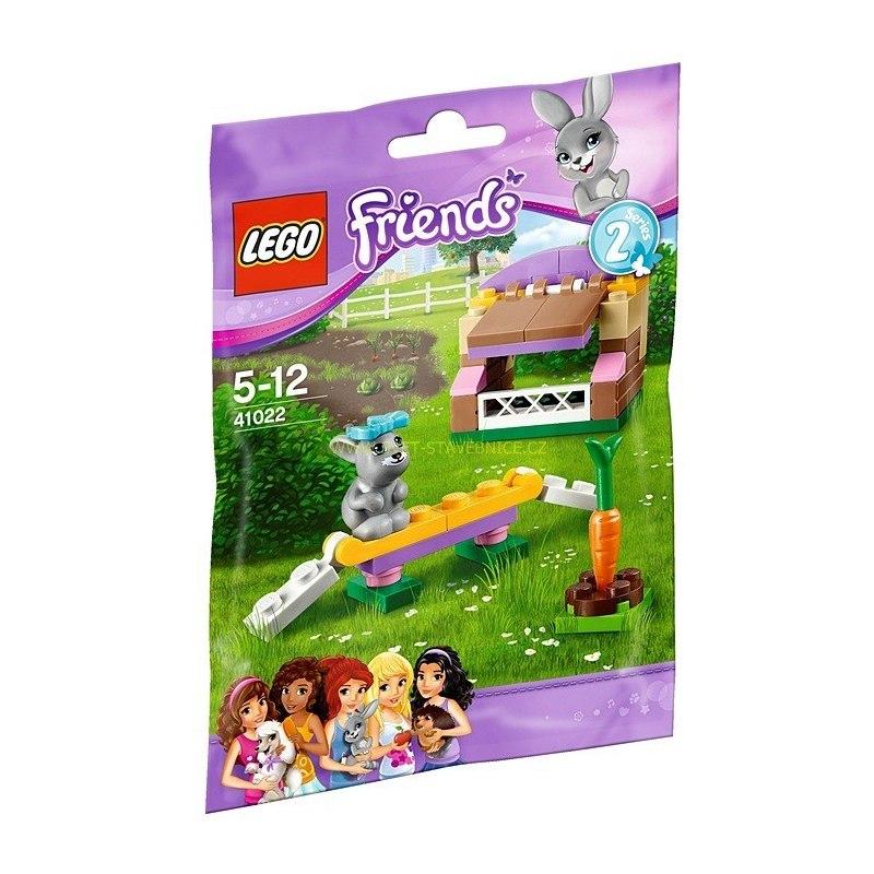 LEGO FRIENDS - Králičí kotec 41022