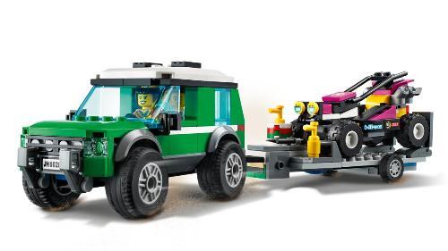 LEGO City 60288 Přeprava terénní motorky