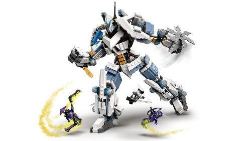 LEGO Ninjago 71738 Zane a bitva s titánskými roboty