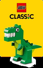 LEGO Classic jsou sady kostiček pro stavění jakýchkoliv staveb podle své fantazie.