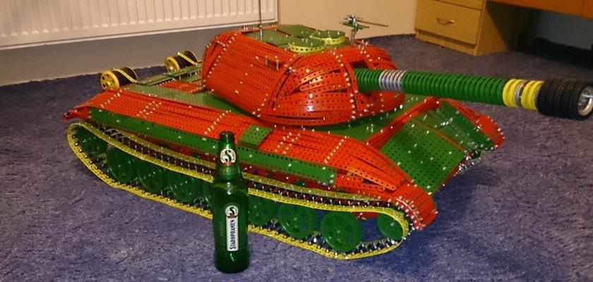 Porovnání velikosti tanku