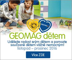Jedinečná magnetická Geomag stavebnice