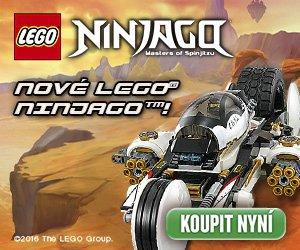 Nová kolekce stavebnic LEGO Ninjago