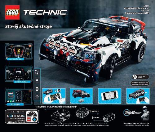 LEGO Technik 2021 pro zkušenější děti nebo dospělé