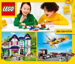 LEGO katalog 2021 - první polovina roku